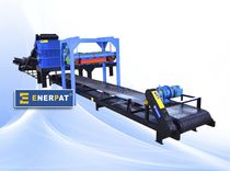 two shaft metal shredder MSL-55 Enerpat Machine Co.,Ltd