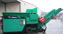 two shaft mobile waste shredder 100 t/h | HDWV series Holzzerkleinerungs- und Fördertechnik GmbH