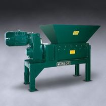 two shaft shredder (plastic, wood, glass, paper, cardboard, rubber)  Munson Machinery