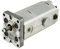 two-stage high/low pressure hydraulic pump 8.3 cm3/rev, 250 bar | HL series Marzocchi Pompe