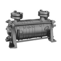 two stage liquid ring vacuum pump max. 60 m&sup3;/h, 1013 mbar | LOH series Sterling Fluid Systems