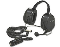 two way noise attenuating headset 220 &amp;#x003A9;, 120 V Atkinson Dynamics