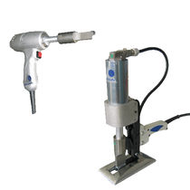 ultrasonic cutting machine for technical textiles and packaging P et T 300W Spoolex - DECOUP +