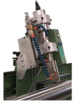 ultrasonic textile cutting and welding machine 5 à 50 m/mn | BMT series Spoolex - DECOUP +