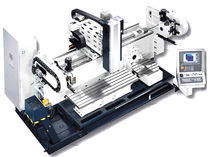 universal milling machine with fixed table 3 520 x 520 x 460 mm | U-ProductionLine Spinner