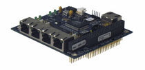 unmanaged industrial Ethernet switch card 5 port | PRV-1059 Parvus