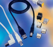 USB connector 480 Mb/s FCI