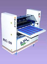 UV varnishing machine for paper/card 250 gsm | APL - RC-1 Abhishek Print Line