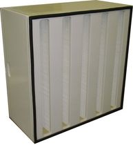 V bank HEPA filter max. 5 000 m³/h | DH series ADS LAMINAIRE