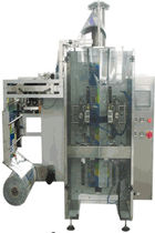 V-FFS stickpack bagging machine (4-side sealed) 40 - 60 p/min American Packaging & Plant Equipment