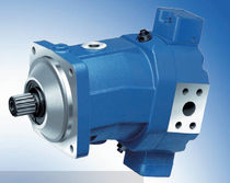 variable displacement axial piston hydraulic motor 1 600 l/min, 450 bar | A6VM series Bosch Rexroth - Industrial Hydraulics