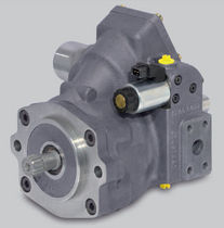 variable displacement axial piston hydraulic pump (open circuit) max. 72.3 kW, max. 315 bar, max. 3600 rpm | MPR 50 LINDE HYDRAULIC