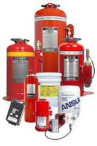 vehicle fire extinguishing system  ANSUL