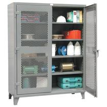 ventilated chemical storage cabinet  Strong Hold Products