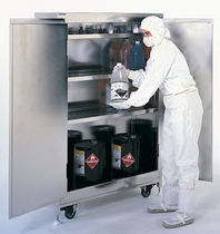 ventilated chemical storage cabinet max. 1 410 x 610 x 1 651 mm Terra Universal Inc.