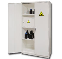 ventilated stainless steel security storage cabinet Range 13 Trionyx