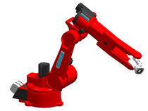 Vertical articulated robot