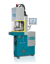 vertical hydraulic injection molding machine for parts including inserts 100 kN | BOY XS V Dr. Boy