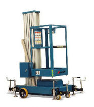 vertical mast lift 136 - 160 kg, 7.7 - 9.7 m | XP series HU-LIFT
