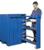 vertical pull-out cabinet  TEDA srl