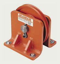 vertical pulley block 1 000 - 83 000 lb, ø 2.25'' - 26.34'' | VB series Jeamar Winches