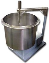 vertical single shaft mixer 350 lb Gruber Systems Inc.