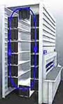 vertical storage carousel  DEXION