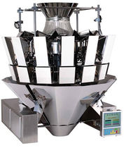 vibratory weighing filler for solids (food products) max. 6 500 g, 70 p/min American Packaging & Plant Equipment