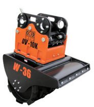 vibratory wheel compactor for excavator 620 - 1 298 kg | UV-W series MBW Incorporated