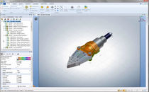 visualization software : collaborative 3D viewer 3DVIA Composer Player  SOLIDWORKS
