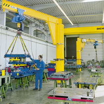 wall mounted and pillar slewing jib crane max. 10 000 kg  Demag Cranes & Components