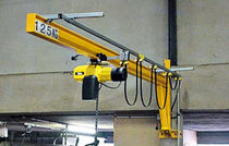 wall mounted slewing jib crane 50 - 2 500 kg, max. 180&deg; | PMS series Columbus McKinnon Industrial Products