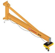 wall mounted slewing jib crane max. 2 000 kg KCI Konecranes International