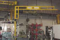 wall mounted slewing jib crane 100 - 1 000 lb | TranStation® WBJ series Craneveyor Corp