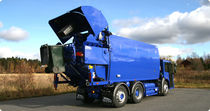 waste collection vehicle: multi-chamber loader 9.4, 4.8, 4.4, 2.1 m³ | QUATRO  NTM - NÄRPES TRÄ & METALL