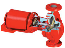 water circulation centrifugal pump max. 200 gpm | 60 series Bell & Gossett Domestic Pump