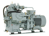 water-cooled high pressure reciprocating compressor (stationary) 110 - 245 m³/h, max. 100 bar (g) | TYPHOON series | Basic J.P. Sauer & Sohn Maschinenbau GmbH