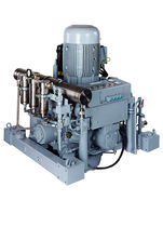 water-cooled high pressure reciprocating compressor (stationary) 38 - 180 m³/h, max. 350 bar (g) | 5000 series | Basic J.P. Sauer & Sohn Maschinenbau GmbH