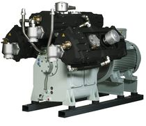 water cooled reciprocating compressor (stationary) 520 - 975 m³/h, max. 16 bar (g) | 6000 series | Basic J.P. Sauer & Sohn Maschinenbau GmbH