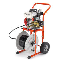 water-jet cleaning machine 1 1/4&quot; - 6&quot; | KJ-2200 Ridge Tool