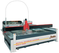 water-jet cutting machine max. 2 200 x 4 400 mm | BWJ series Baykal Makina