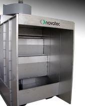 water paint booth CV-2 NOVATEC srl - Surface Finishing Technology