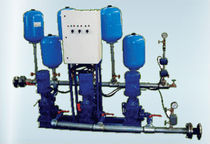water pressure booster unit with vertical pumps max. 12 l/s, max. 80 m | BS MZT PUMPI AD