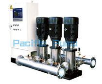 water pressure booster unit with vertical pumps max. 1500 m3/h | DRL series Shanghai Pacific Pump Manufacture Co.,Ltd