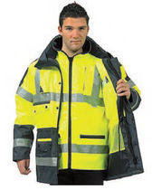 waterproof and breathable workwear EN 471, EN 343 GROUPE RG