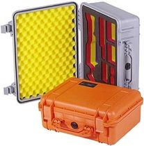waterproof and crushproof case for electronic equipment with cubed foam  CP Cases