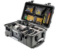 waterproof and crushproof transportation case 50.1 x 27.9 x 19.3 cm | 1510 series Peli Products
