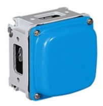 watertight junction box with window walls IP67 | ALUPRES series Palazzoli SpA