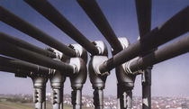 wear resistant pipe elbow for pneumatic conveying FLOW-BOW Stanelle Silos + Automation GmbH