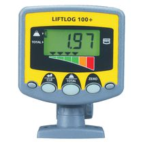 weight indicator for forklift truck IP67 | Liftlog 100+ RDS Technology Ltd.